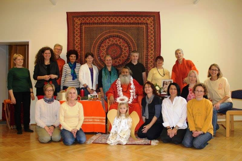 Gruppe mit Umapuri