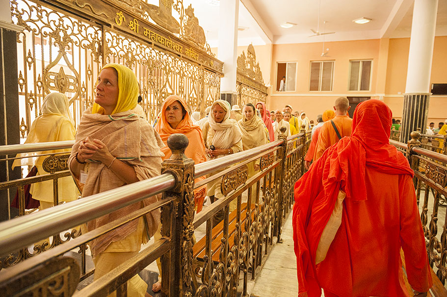 Ashram group visits renowned Mahakaleshwar Temple, Ujjain