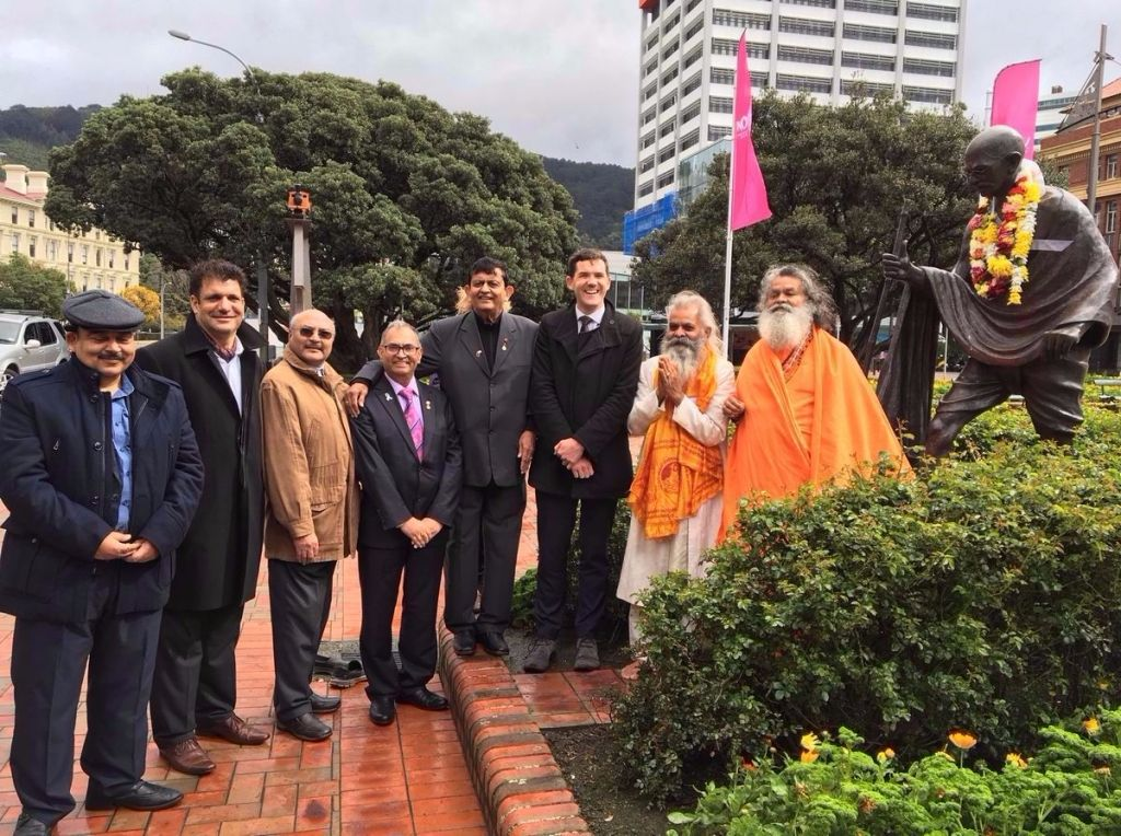 International Day of Non-Violence 2016 - Vishwaguruji in Wellington, New Zealand