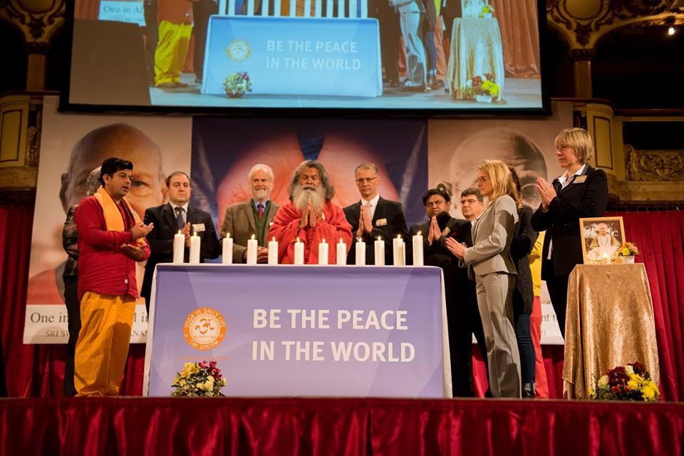 Sri Swami Madhavananda World Peace Council conference in Prague