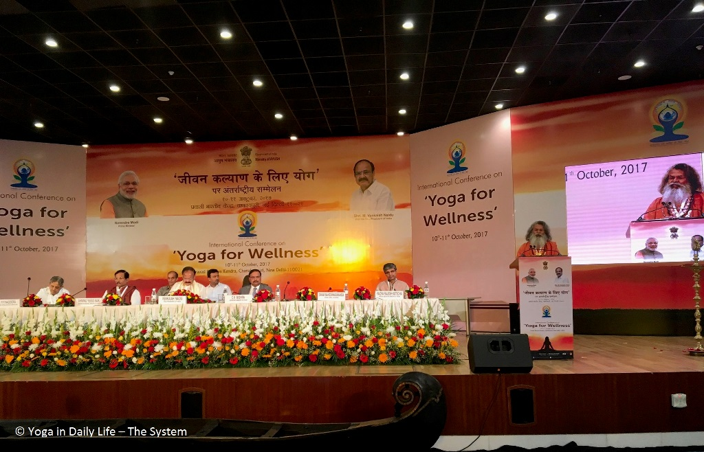 'Yoga for Wellness' - International Conference in New Delhi