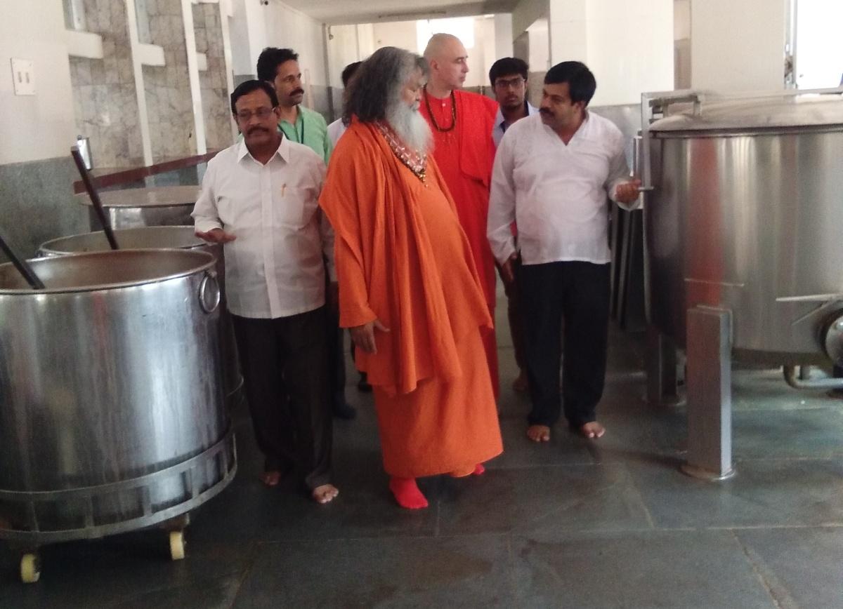 Dharmasthala kitchen