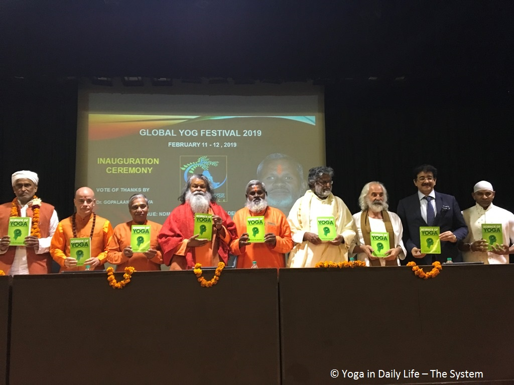 Global Yoga Festival in New Delhi