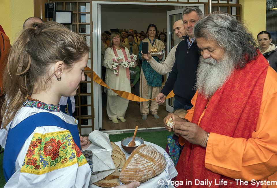 opening ceremony of the ashram