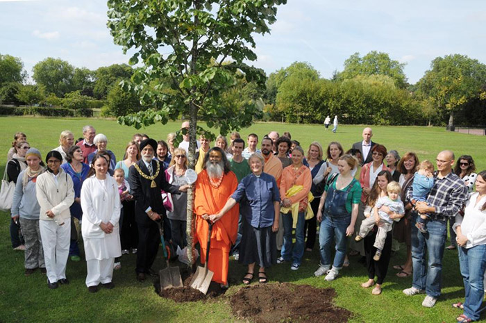 World Peace Trees planted in London, Birmingham and Edinburgh