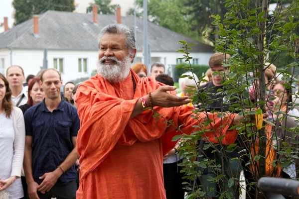 The 105th Peace Tree planted in Győr, Hungary