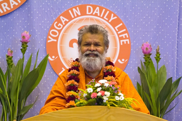 His Holiness Abunathswami Maheshwaranandaji in Prague